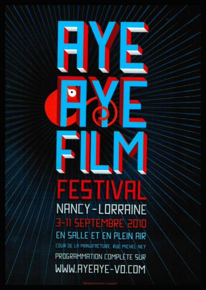 affiche Festival du Film Nancy 2010