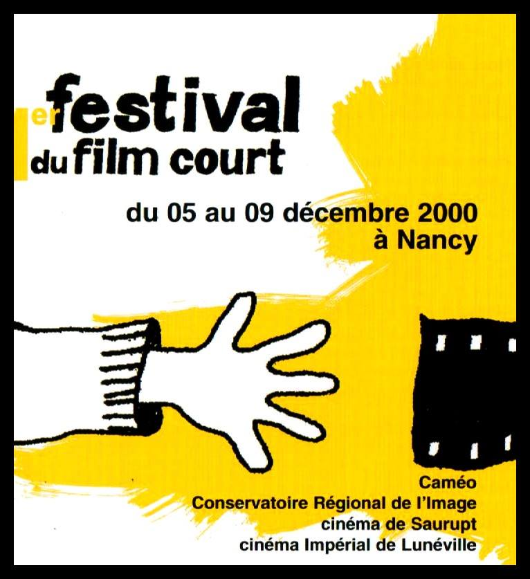 affiche festival du film nancy 2000